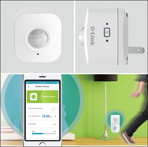 D-Link's Wi-Fi motion sensor (DCH-S150) (Courtesy: http://www.dlink.com)
