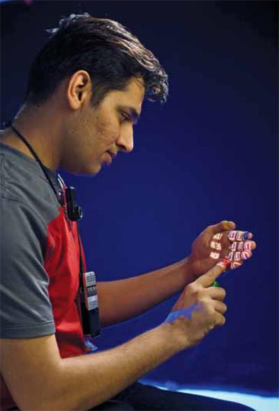 SixthSense technology demo by Pranav Mistry