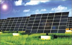Fig. 3: Solar power plant
