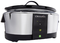 The Internet-connected crock-pot (WeMo-compatible slow-cooker) launched by Belkin