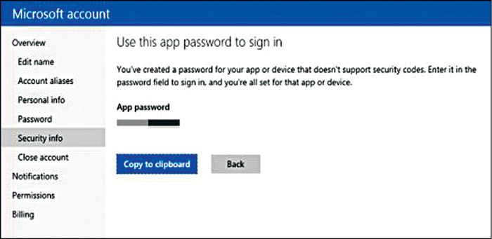 Fig. 14.4: Activating TFA for a Microsoft account (Credit: Microsoft)