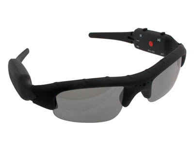 007-DVR260, Camcorder Spy Sunglasses