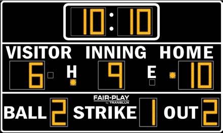 Fig. 1: Sports scoreboards
