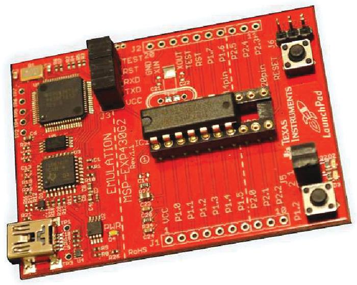 Fig. 3: MSP430 LaunchPad