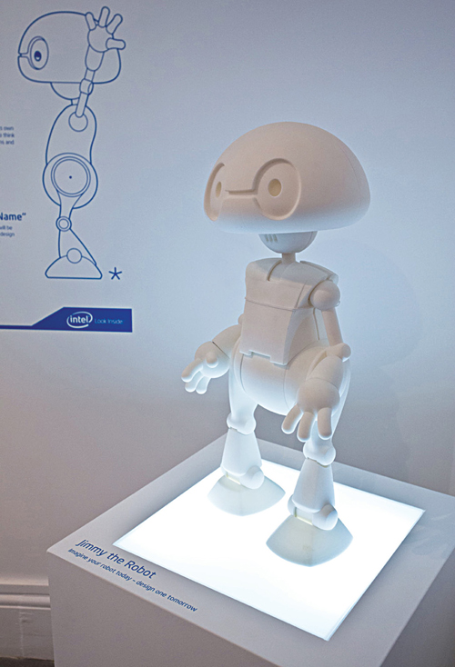 Intel's vision of tomorrow's robot—Jimmy (Courtesy: Intel)