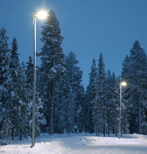 OSRAM Opto Semiconductors' Golden DRAGON LEDs in EasyLed streetlights in Finland