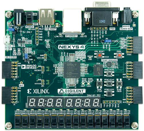 Fig. 8: Nexys-4 developmentboard