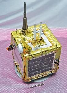 SRMSAT is a nanosatellite developed by Tamil Nadu-based SRM University under ISRO's guidance (Courtesy: SRM University)