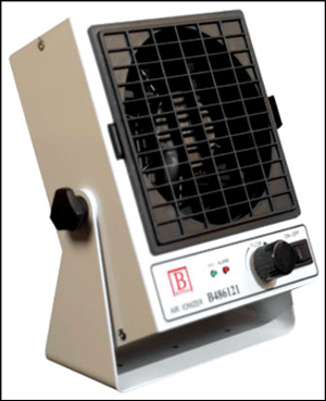 Fig. 8: Bench-top ioniser