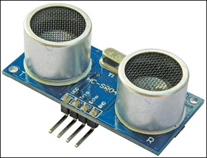 Fig. 2: Ultrasonic rangingmodule HC-SR04