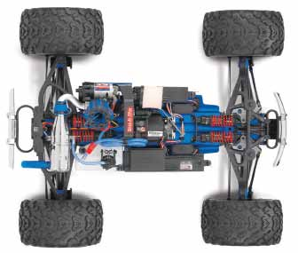Traxxas RC-controlled Revo Truck