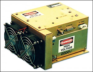 Fig. 3: Capacitor-charging power supply module for OEM applications