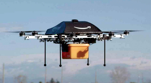 Prime Air drone proposed by Amazon (Source: http://www.computerworld.com.au)
