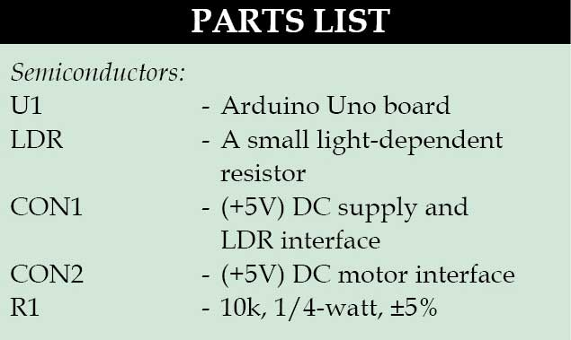 LDR Based DC Motor Speed Control | Detailed Project Available