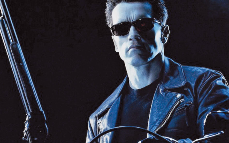 Fig. 3: Arnold Schwarzenegger, in the Terminator franchise, which first came out in the 1980s, has an expert self-healing computer system at its core (Image courtesy: www.hollywood.com/news/movies)