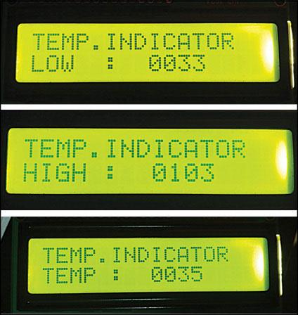Digital Temperature Controller | Full Circuit Diagram With