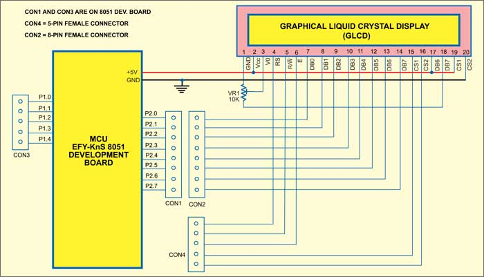 Put your own Smiley on GLCD | Electronics For You