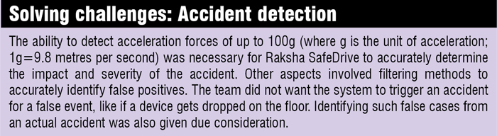 Solving the accident detection challenges