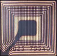 Fig.4: internal structureof a typical RFID tag