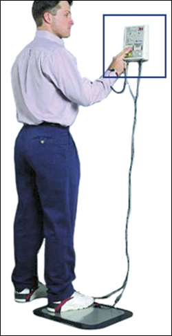 Fig. 13: Wrist strapand footwear tester