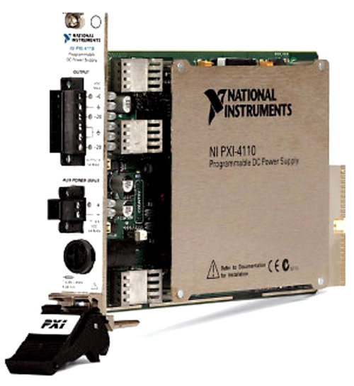 NI PXI-4110- programmable DC power supply