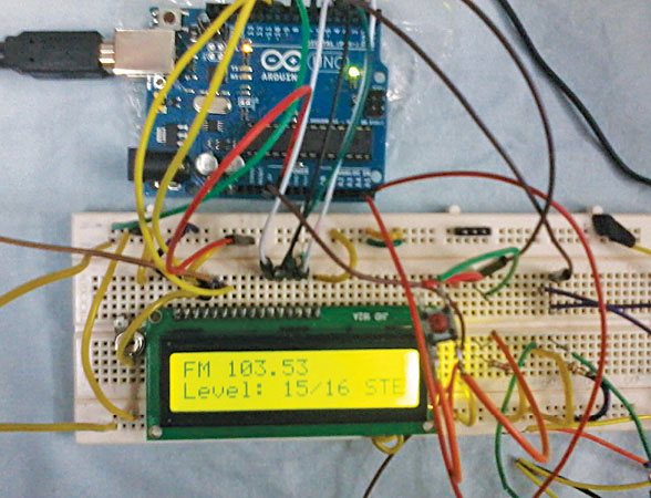 Arduino FM Reciever with Arduino, RDS and Solar