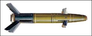 Fig. 10: Krasnopol laser-guided projectile