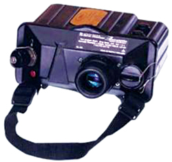 Fig. 2: Handheld eye-safe laser rangefinder