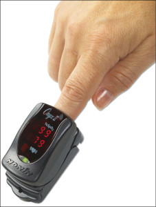 Onyx-II (Model 9560) fingertip pulse oximeter