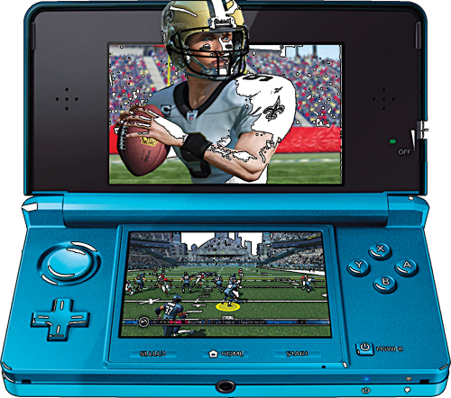 Nintendo 3DS portable gaming device