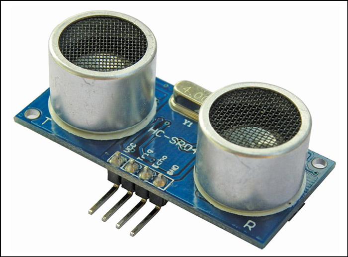 Fig. 5: Ultrasonic module HC-SR04