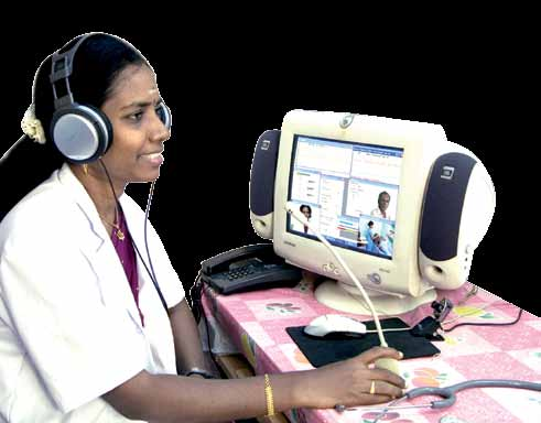 Neurosynaptic Communications, in close association with IIT-Madras' TeNeT Group, has set up ReMeDi—a remote medical diagnostic solution that enables doctors to videoconference with patients who come to 'see' them, through Internet centres set up in the village
