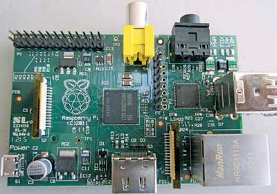 Fig. 1: Raspberry Pi