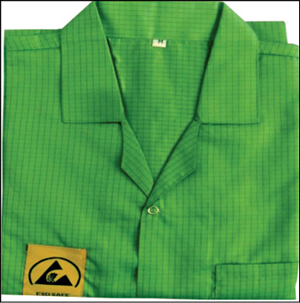 Fig. 5: ESD-safe apron