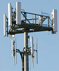 Fig. 3: Cell-tower antenna array (Courtesy: antennatheory.com)