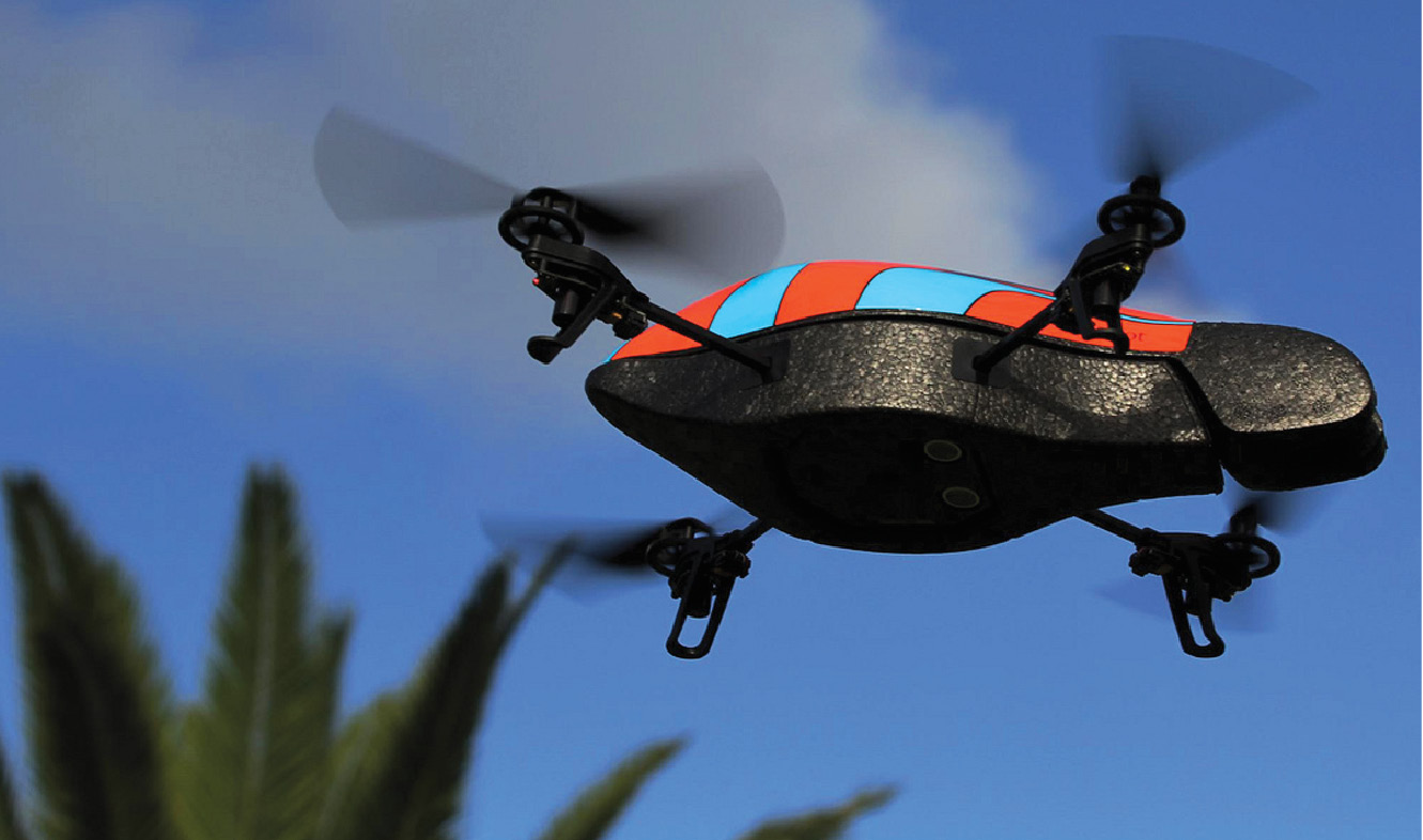 A drone that can hijack drones