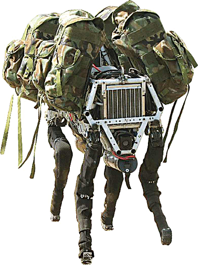 Boston Dynamic's military robot dog