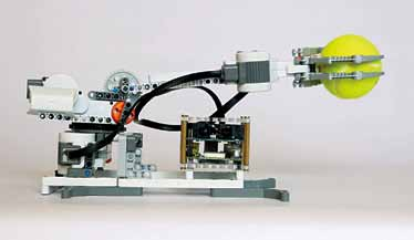 BrickPi as a robot arm
