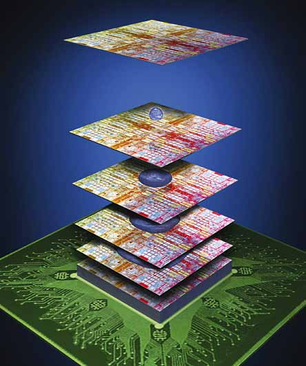 3D IC stacking (Image courtesy: www.i-micronews.com)