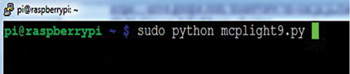 Fig. 11: Running the Python code