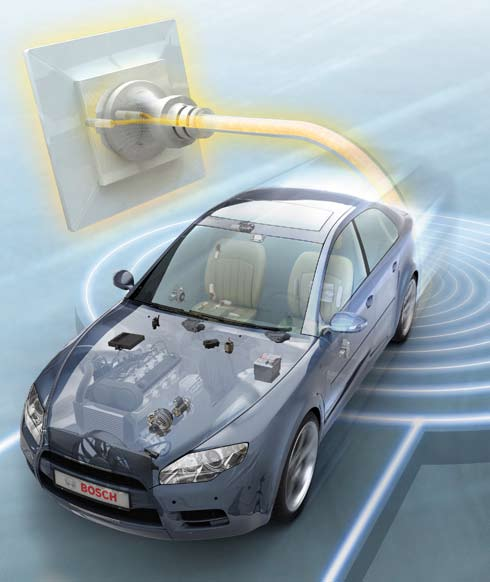 Bosch technology for the future of mobility. Protecting the environment and preventing accidents are the main issues