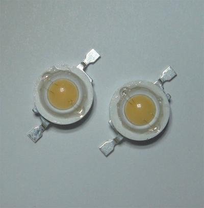Figure6. Two 3 Watt Flat-white LEDs from Electrospell.