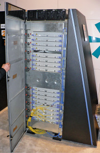 Fig. 3: A cabinet from Blue Gene/L, a massively parallel processor based supercomputer (Source: www.wikipedia.org)