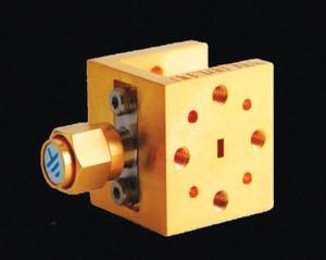 Fig. 5: A terahertz mixer componentcontaining a Schottky diode