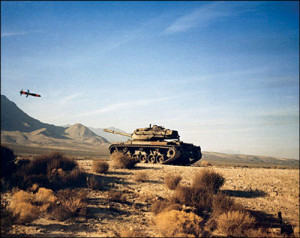 Fig. 11: Attack profile of Copperhead projectile