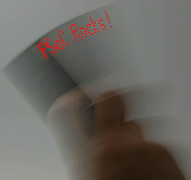 "Figure 6 ""PSoCRocks"" application Image"