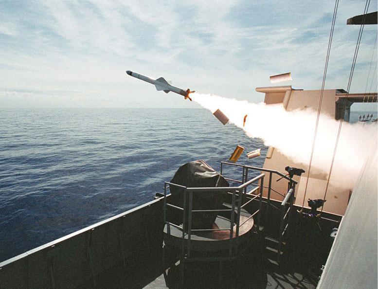 Fig. 8: MBDA EXOCET MM-40 Block-3 missile