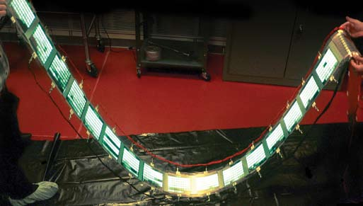 World's first 'roll-to-roll' manufactured OLED from GE
