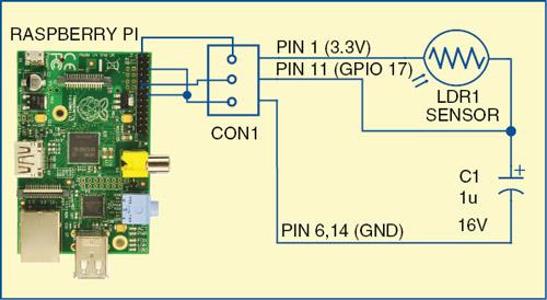 Analogue Input on Raspberry Pi | Electronics For You