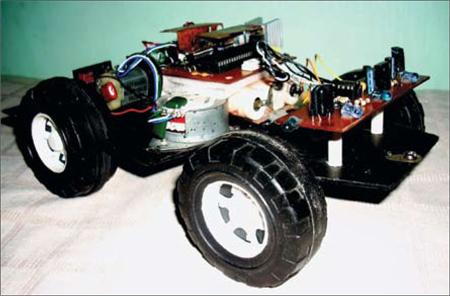 Fig. 6: Author's prototype of robocar